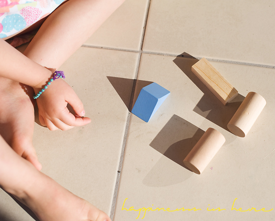 Light, Blocks, and Shadows: An Art Exploration | Happiness is here