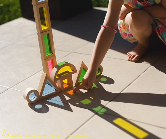 Light, Blocks, and Shadows: An Art Exploration   Happiness is here