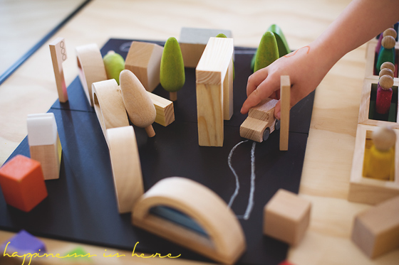 Encouraging Block Play {With Girls} | Happiness is here