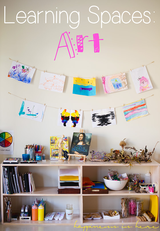 Learning Spaces: Art | Happiness is here