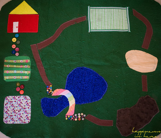 Homemade Farm Play Mat