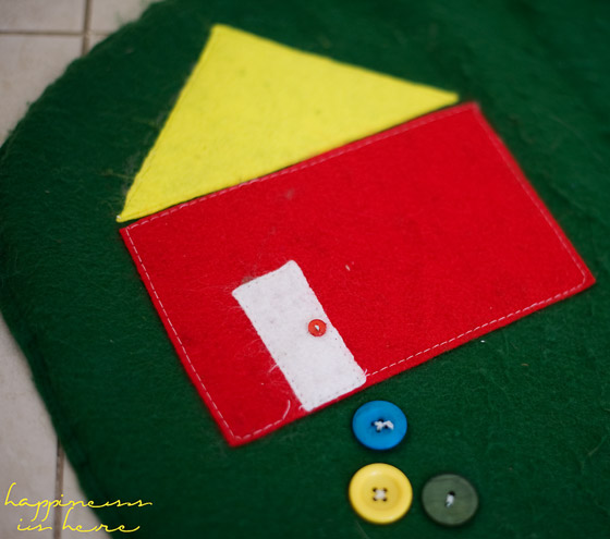 Homemade Farm Play Mat   Happiness is here