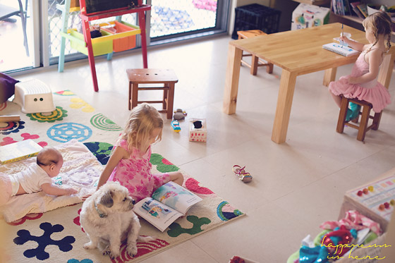 Homeschooling with a baby   Happiness is here