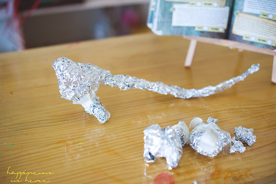 Foil + Mod Rock Sculptures