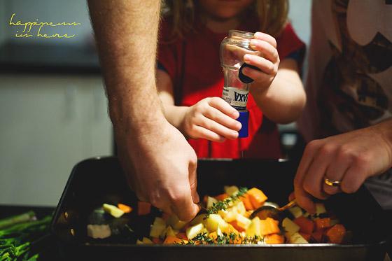 Encouraging good eating habits, respectfully