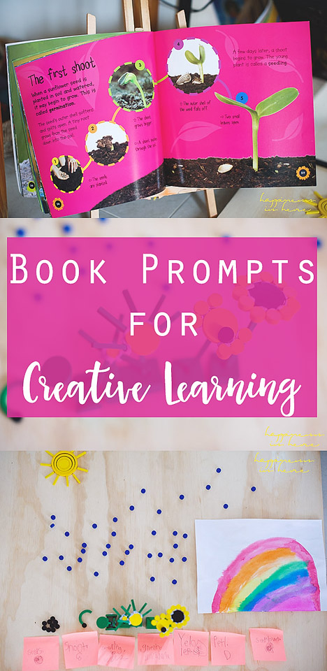 Book Prompts for Creative Learning