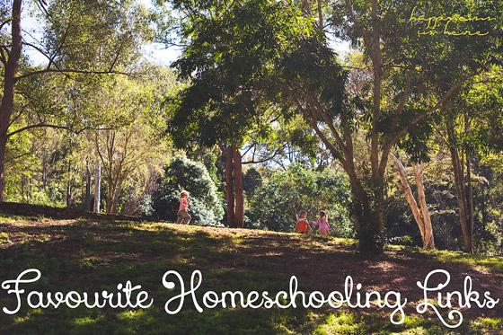 Favourite Homeschooling Links