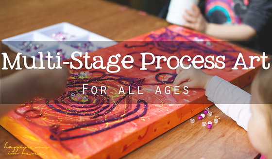 Multi-Stage Process Art