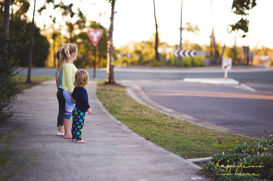 Myth: Unpunished Kids Will Run on the Road