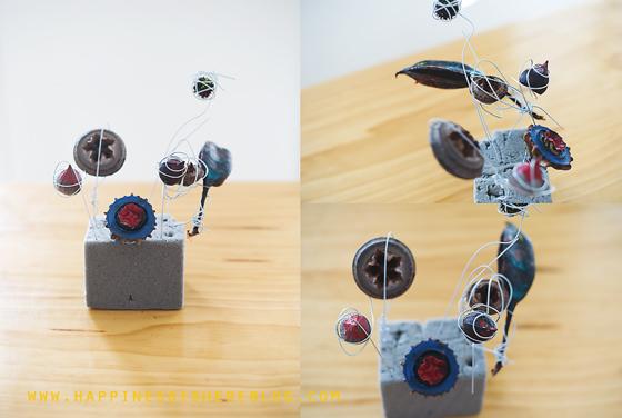 Seed Pod Sculptures