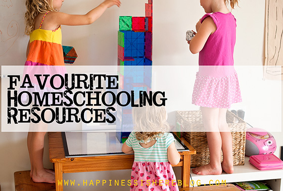 Our Favourite Homeschooling Resources