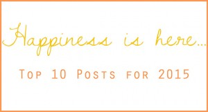 Top 10 Posts for 2015