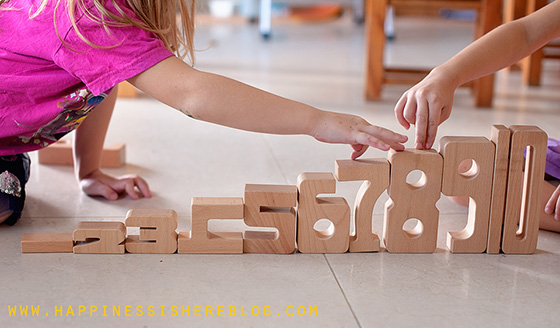 Sumblox – Wooden Blocks for Maths