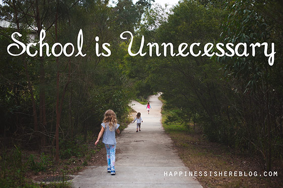 School is Unnecessary