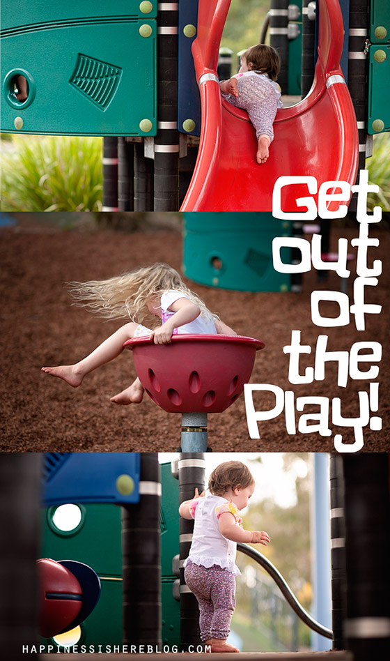 Get out of the Play!