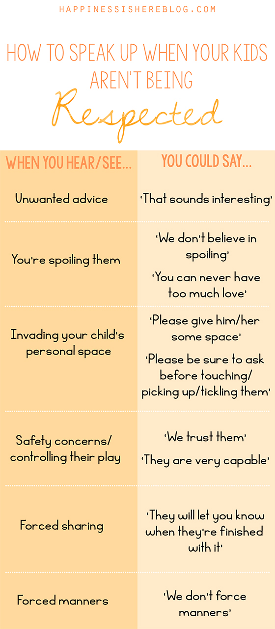 How to Speak up When Your Kids Aren't Being Respected