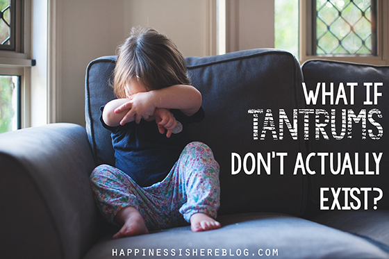 What if Tantrums Don't Actually Exist?