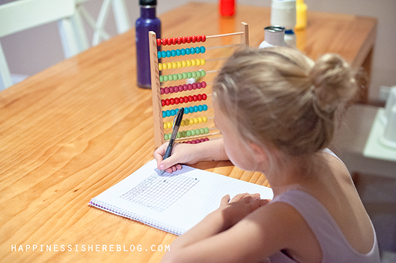 Everyday Unschooling: Times Tables