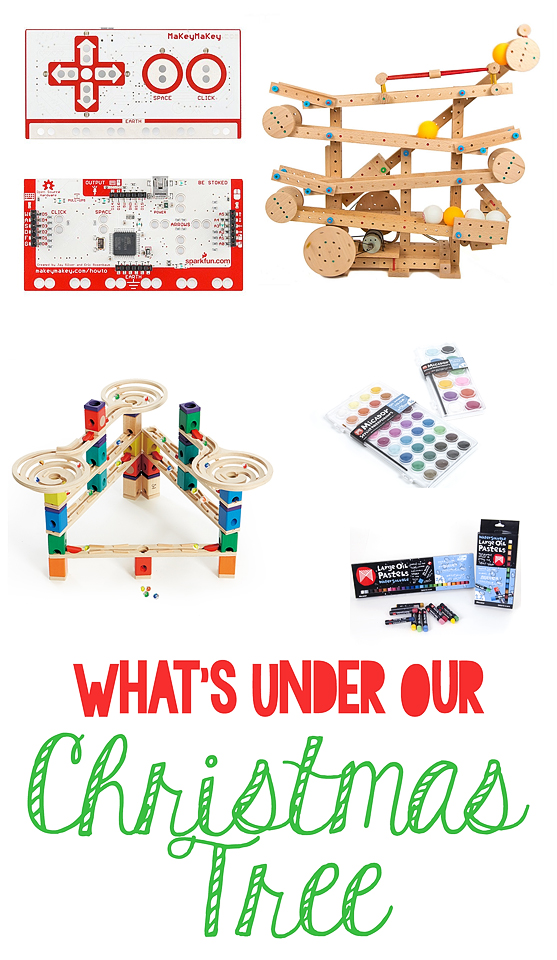 What's Under The Christmas Tree - 2017 Gifts