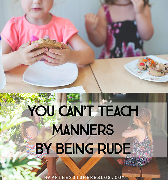 12 Things Adults Need to Remember About Teaching Kids Manners
