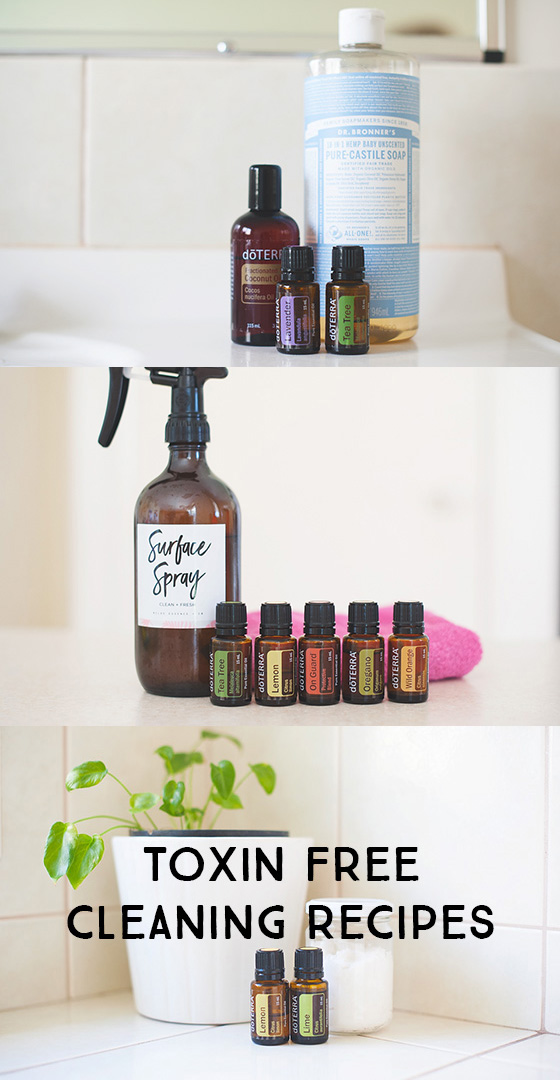 DIY toxin-free cleaning recipes