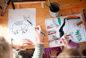 Artventure Online Art Lessons for Kids