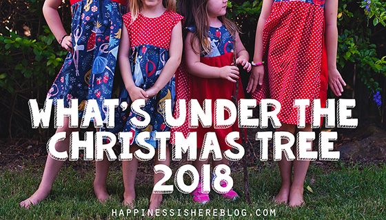 What's Under The Christmas Tree in 2018
