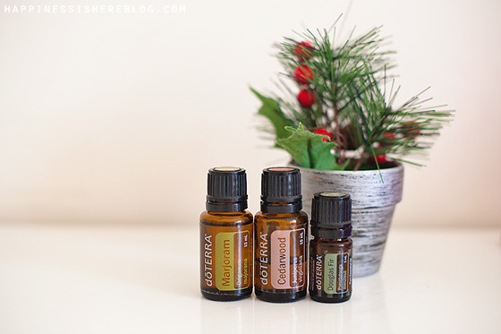 Essential Oils for Peaceful Holidays