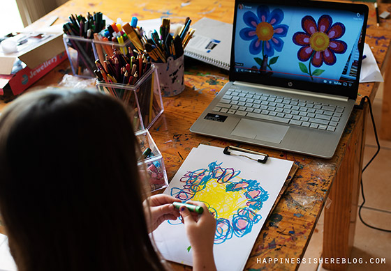 Homeschooling art program