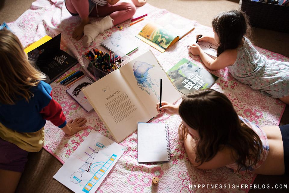 Unschooling: Creating a Rhythm