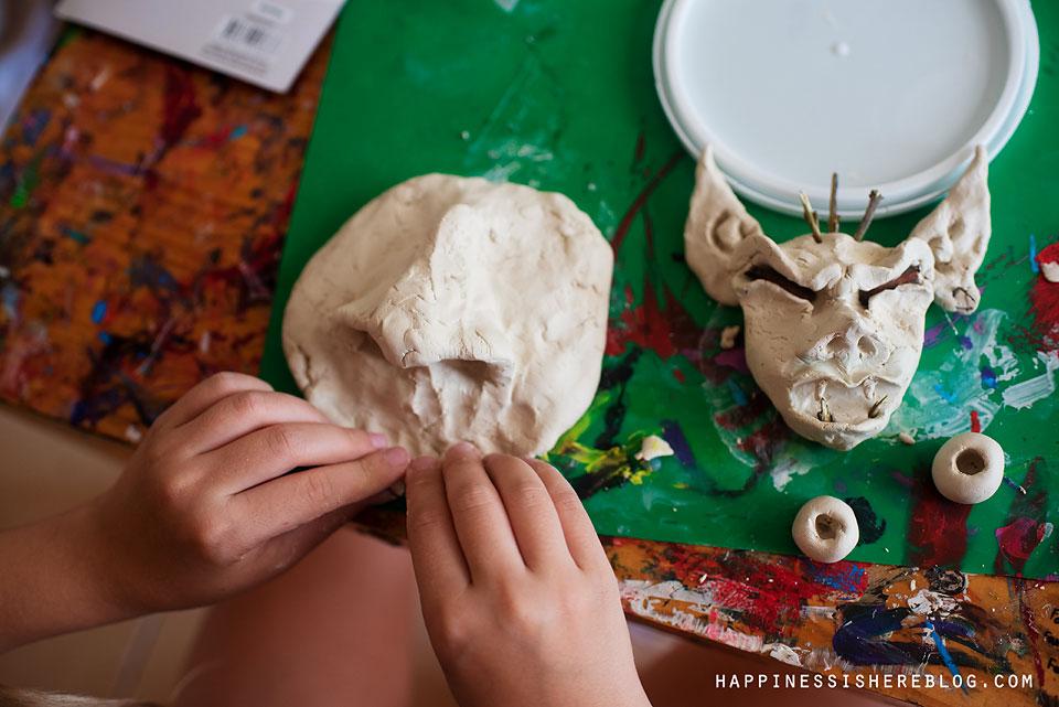 sculpture kids art